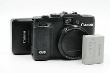 Canon PowerShot G16 Digital Camera 12.1MP 1080P/60p HD Video #284