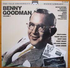 Benny Goodman Volume One The Yale University Music Library 1988