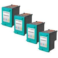 4pk COLOR Ink Print Cartridge for HP 97 HP97 C9363WN Deskjet 6940 5940 9800 5740