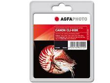 Agfa Foto cli-8bk EMB. orig. NUEVO / Pixma IP 4200/ más tinta contenido 15,5ml