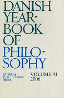 Danish Yearbook of Philosophy, Paperback by Collin, Finn (EDT), Brand New, Fr...