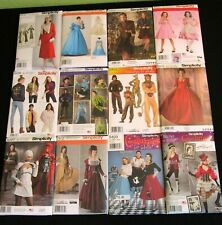 ✂ Simplicity COSTUME Sewing Pattern * You Pick * Cosplay Vintage 30's 50's Gowns