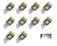 Ampoules W5W T10 24V LED Canbus 5 SMD Blanc 6000K pour camions 4x4 bateaux
