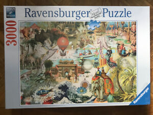 Ravensburger OCEANIA Antiquity 3000 Piece Jigsaw Puzzle 170685 NEW SEALED 48x32""
