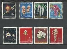 Thailande Thailand  YT 470/77 flore fleurs  ** MNH