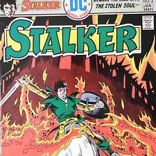 Stalker 4 — Dec/Jan 1975/76 — Dc Comics Fire Demons Inferno Stolen Soul Ditko