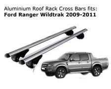 Aluminium Roof Rack Cross Bars fits Ford Ranger Wildtrak 2009-2011