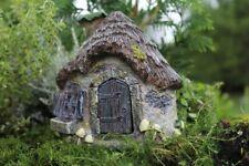 Fairy Garden Gnome, Hobbit Fairies Ribbit's Ridge Miniature House Cottage