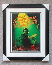 *FRAMED* Bruce Springsteen Signed River Tour Poster Print EXACT Proof JSA Vinyl