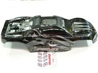 NEW TRAXXAS E-REVO 2.0 VXL 1/10 Body Factory Paint BLACK LIMITED Clipless RRE6K