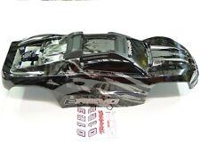 NEW TRAXXAS E-REVO 2.0 VXL 1/10 Body Factory Paint BLACK LIMITED Clipless RRE6K