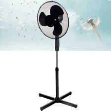 Ventilatore a Piantana Silenzio 45W Pala 40 cm 3 Velocita Altezza regolabile Ner
