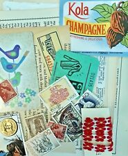 ❤️Junk Journal Vintage PAPER EPHEMERA Embellishments #22