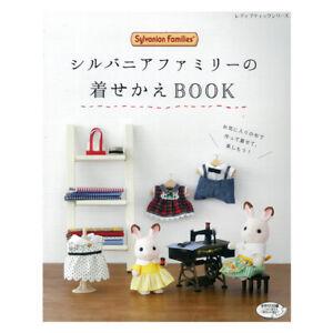 Sylvanian Families Dress Up Book Handmade Sewing Cloth Kawaii Japan w/Tracking#
