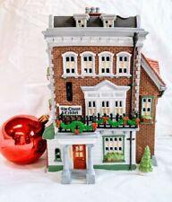 Dep. 56 Dickens Village Crown And Cricket Inn 1St Ed 1992 Christmas Village