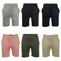 Mens Brave Soul Bottoms Knee length Fleece Gym Sports Sweatpant Pocket Shorts