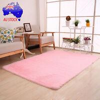 Soft Fluffy Anti-skid Shaggy Area Rug Dining Room Carpet Bedroom Home Floor Mat