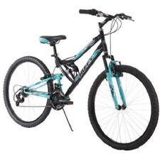 "26"" Women's Mountain Bike Ladies Bicycle Full Suspension Aluminum Rims Shimano"