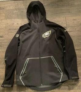 Philadelphia Eagles Nike GOLDEN ANNIVERSARY Jacket Mens Nfl size M RARE STITCHED
