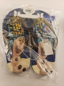 Disney Frozen Olaf Flip-Flop Sandals - Size 2
