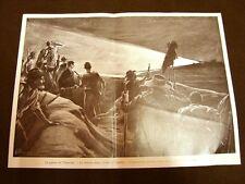 Guerra nel Transvaal nel 1900 Trincee boere attorno a Colenso Sudafrica