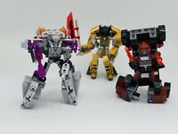 Kre-O Transformers Battle Changers Megatron, Grimlock  & Ironhide (Hasbro)