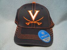 43bfe91fe50 Top of The World Virginia Cavaliers M-l Curved Hat Cap Wahoo UVA  hoos