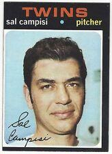 1971 TOPPS BASEBALL SEMI-HI #568 SAL CAMPISI 2ND YEAR - EX-/EX