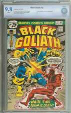BLACK GOLIATH #2 CBCS 9.8 WHITE PAGES