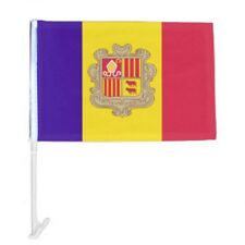 """12x18 Wholesale Lot 12 Andorra Country Car Vehicle 12""""x18"""" Flag"""