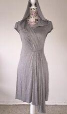 Trina Turk Womens Dress Size 2 Gray Jersey  Dress Style# 2100233