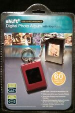 SHIFT 3 USB 2.0 PINK DIGITAL PHOTO ALBUM WITH KEYCHAIN - HOLDS 60 PHOTOS
