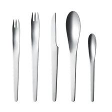 Georg Jensen AJ Cutlery Set 5 Pcs. - Arne Jacobsen