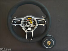 991 - 997.2 PDK NEW STYLE GT 3  RS BLACK LEATHER  STEERING WHEEL WITH A - BAG