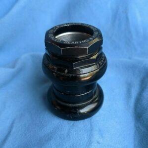 CHRIS KING GripNut Threaded Headset 1-1/8 inch Black ship asap from USA Brompton