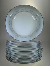 Noritake Martha Rimmed Soup Bowls Set of 11