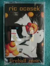 ric ocasek fireball zone Factory Sealed Cassette DIGalog ~ Nile Rodgers Cars RIP
