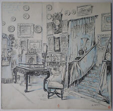 Bello Disegno Antico Interno Appartamento Bourgeois GEORGES STEIN