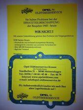 Opel Kadett C GT/E Dichtung Getriebedeckel Getriebe 4 Gang Schaltgetriebe CiH