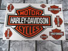 Aufkleber Bogen Motorcycles Harley-Davidson Racing Motorradsport Biker Race GT