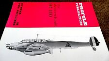 PROFILE PUBLICATIONS AIRCRAFT #23: THE MESSERSCHMITT BF 110 (1965)