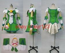 Smile PreCure! Nao Midorikawa Cure March Cosplay Costume Custom Any Size