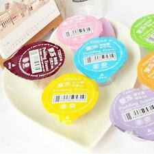 Cute Pudding Jelly Style Rubber Pencil Eraser Kid Home Office Gift Toy Cleaner