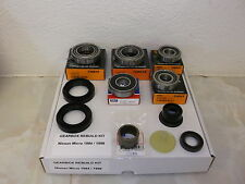 Gearbox bearings seal repair kit 92>98 suitable for Nissan Micra K11 1.0 inj