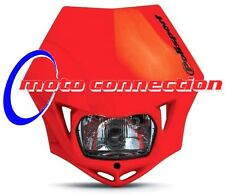 Polisport MMX Headlight Enduro CRF Road Legal  - Red MX                  MMX-RED