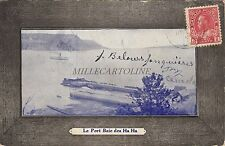 * CANADA - Le Port Baie des Ha Ha 1919