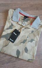 * Herren Bench Poloshirt T-Shirt Shirt Männer Camouflage Kragen Gr. M NEU ***