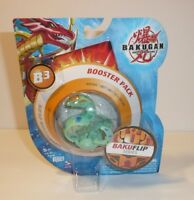 Bakugan Battle Brawlers Bakuflip Series Green Flip B3 Booster Pack SEALED NEW