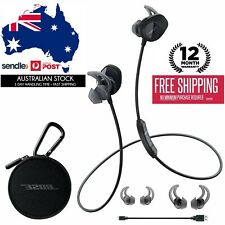 Genuine Bose SoundSport wireless bluetooth headphones sound sport earphone black
