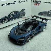 1/64 TSM Model MINI-GT McLaren Senna Victory Grey RHD MGT00013-R